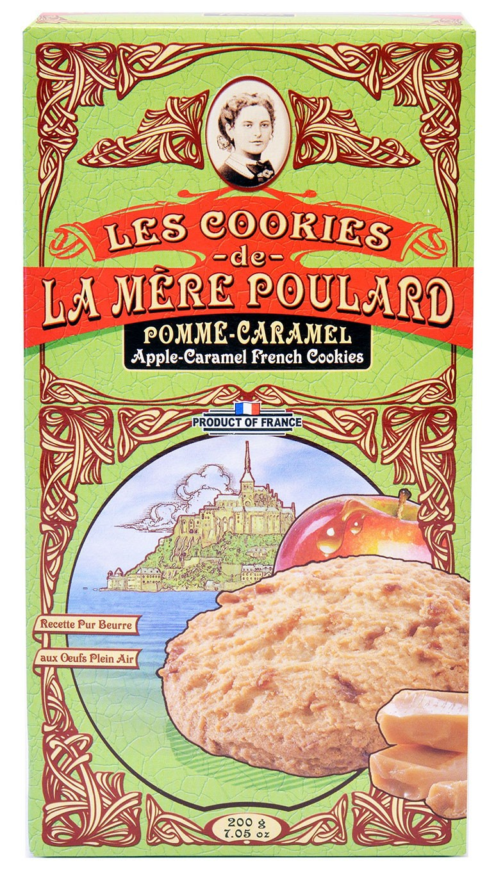 Печенье песочное с яблочной карамелью La Mere Poulard фото