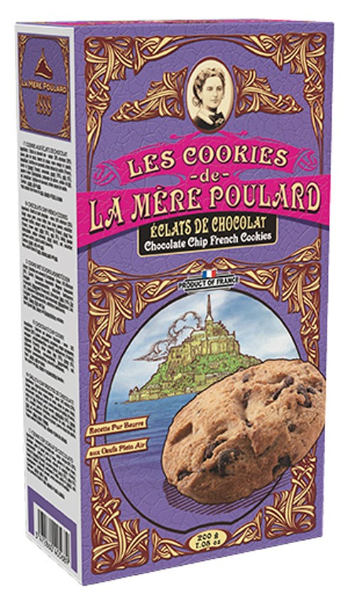 Печиво зі шматочками шоколаду La Mere Poulard фото