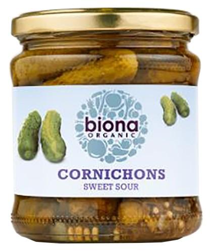 Маринованные корнишоны Biona Organic фото