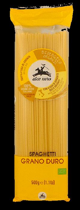 Паста спагетти из твердых сортов пшеницы Alce Nero фото