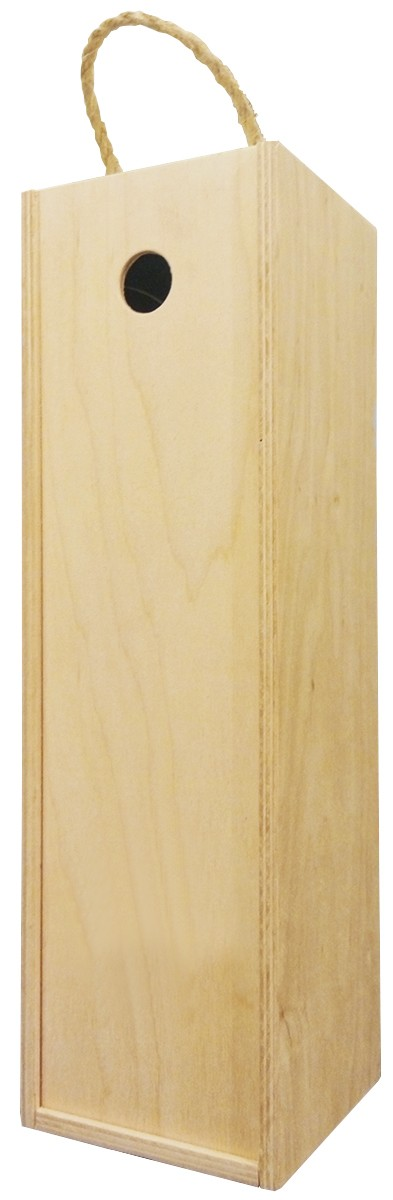 Короб подарочный деревянный (на 1 бутылку) фото