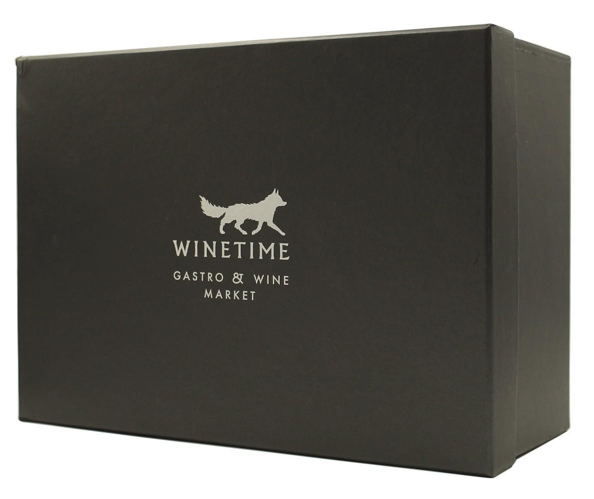 Короб подарунковий WINETIME (сірий) фото