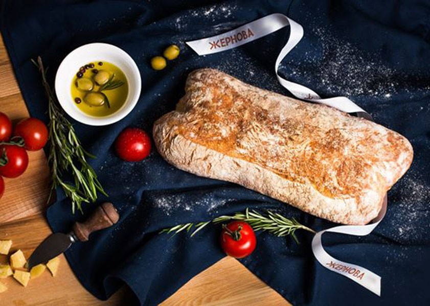 Хліб Чіабата Жорнова фото