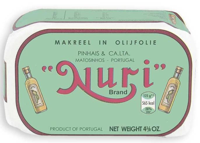 Скумбрия в оливковом масле NURI фото