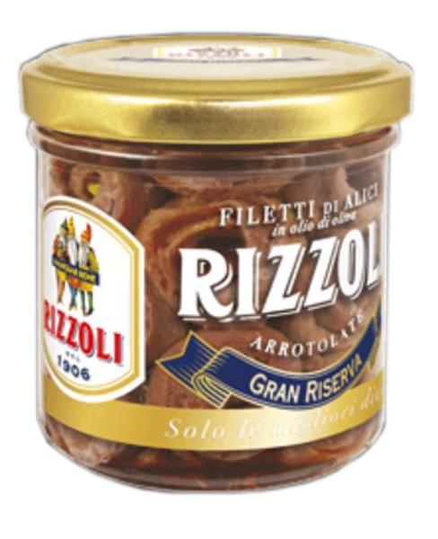 Анчоусы в оливковом масле, рулеты Rizzoli фото