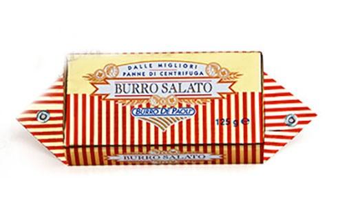 Масло сливочное соленое De Paoli фото