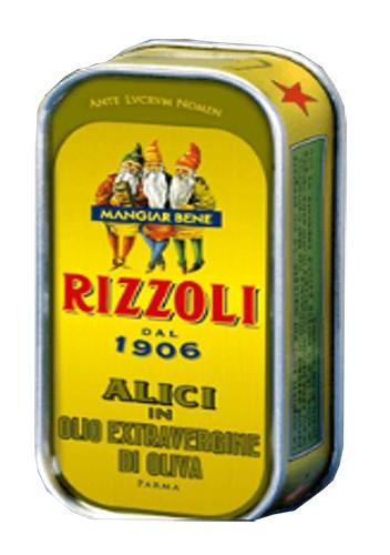 Анчоусы в оливковом масле Rizzoli фото