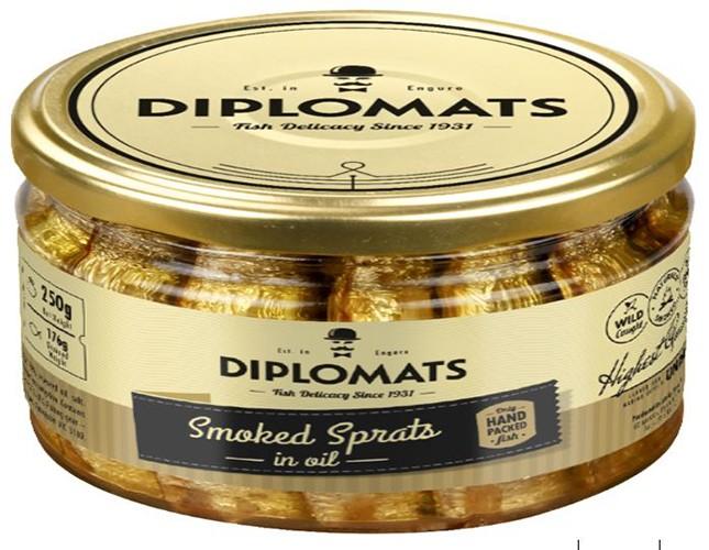Шпроты в масле Diplomats фото