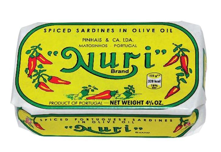 Сардина в оливковом масле, пикантная NURI фото