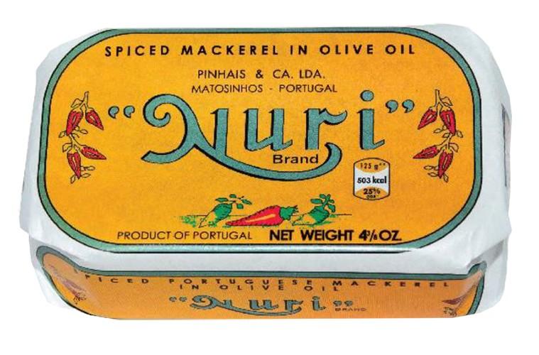 Скумбрия в оливковом масле, пикантная NURI фото