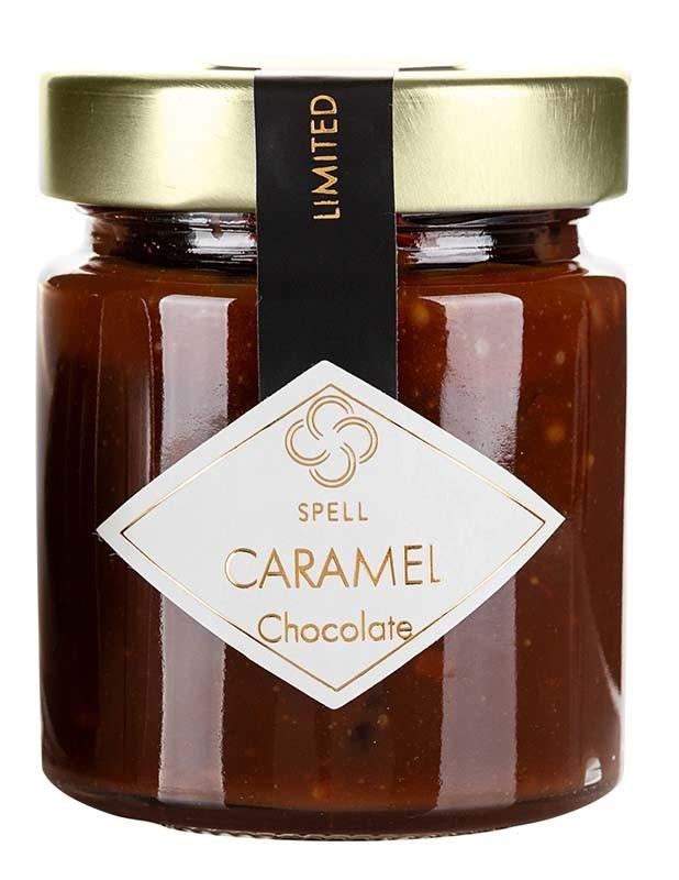 Карамель шоколадна з подрібненими какао-бобами Spell фото