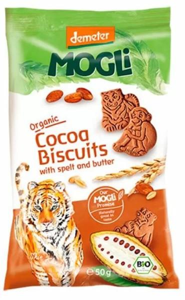 Печиво вершкове органічне зі спельти з какао Mogli фото
