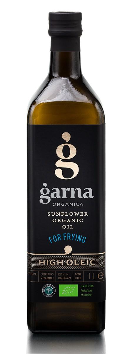 Олія соняшникова рафінована Garna Organica фото