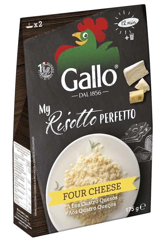 Ризотто 4 сыра Riso Gallo фото