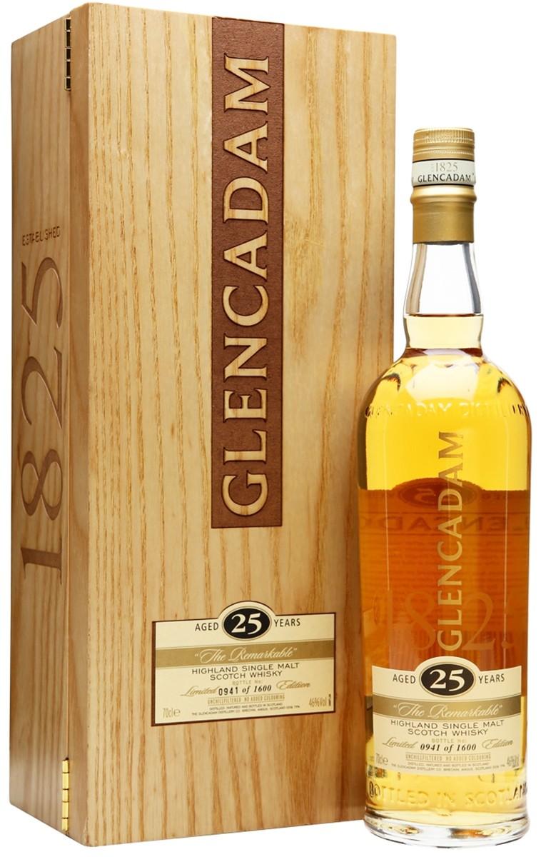 Glencadam 25 Y.O. (в деревянном ящике) фото