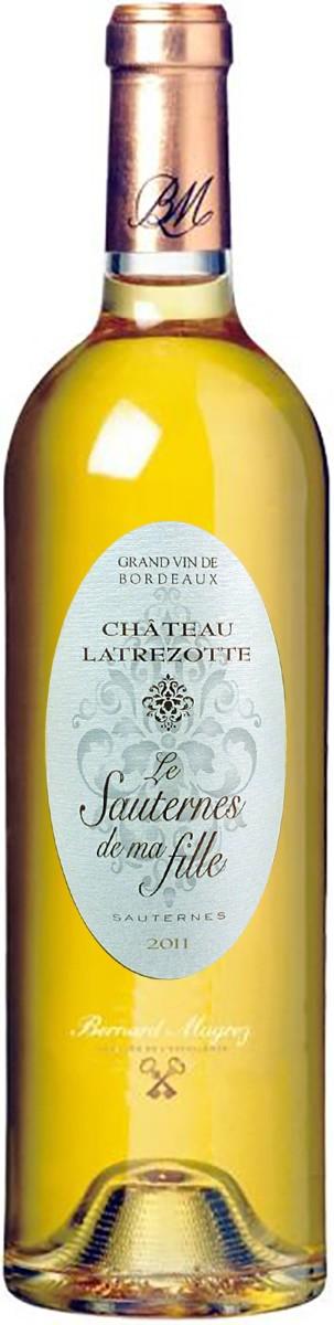 Bernard Magrez Chateau Latrezotte Le Sauternes de Ma Fille фото