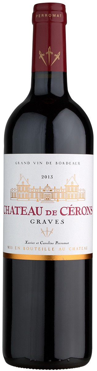 Chateau Cerons Graves Rouge фото