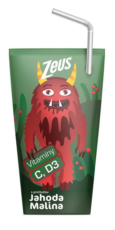 фруктовый Zeus клубника, малина фото
