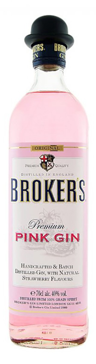 Broker's Premium Pink Gin фото