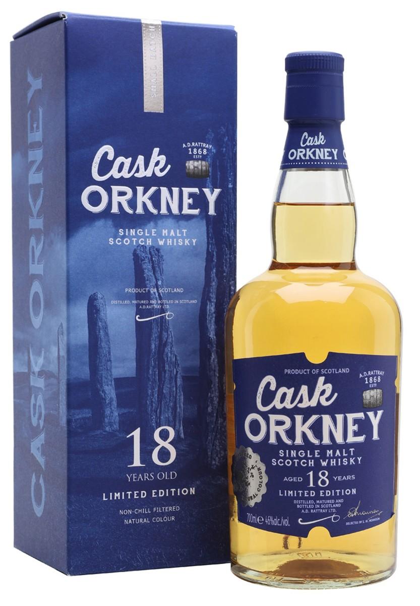 Dewar Rattray Cask Orkney 18 Y.O (в коробке) фото