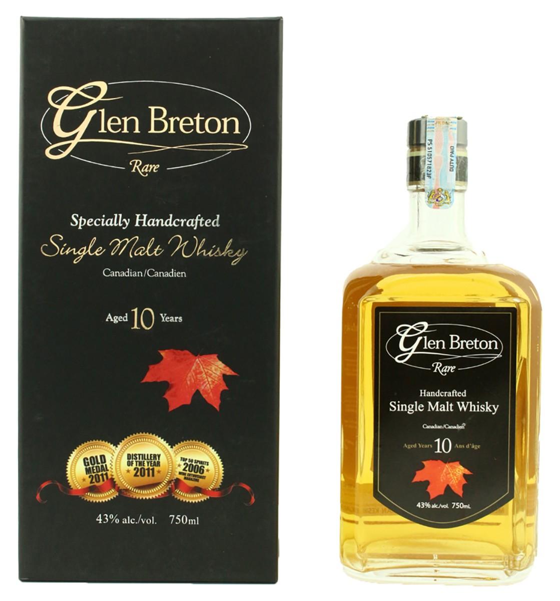 Glen Breton Rare 10 Y.O. (в коробке) фото