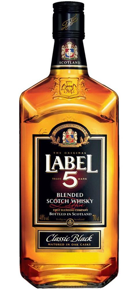 Label 5 Сlassic Black (в коробці) фото