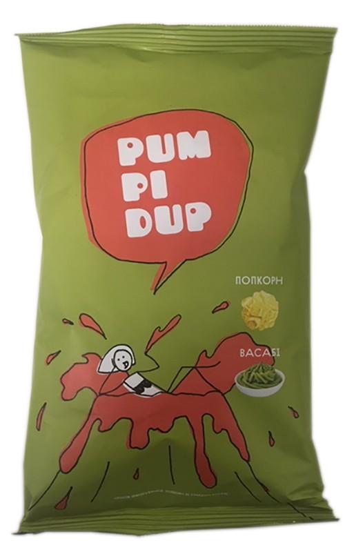 Попкорн Pumpidup со вкусом васаби фото