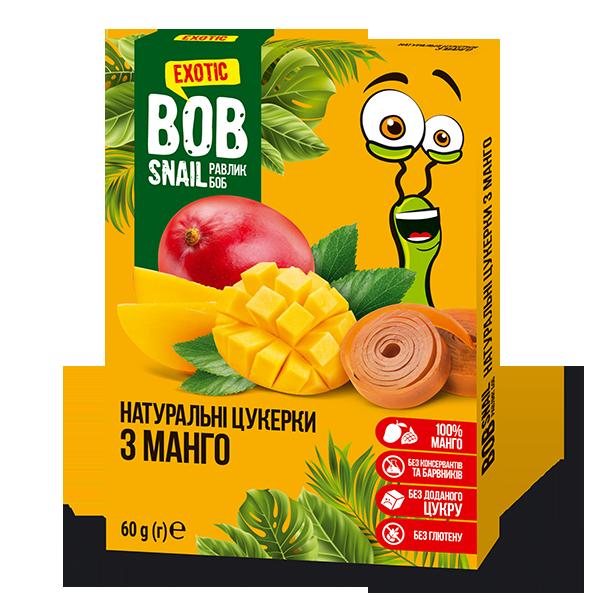 Конфеты натуральные с манго Bob Snail фото
