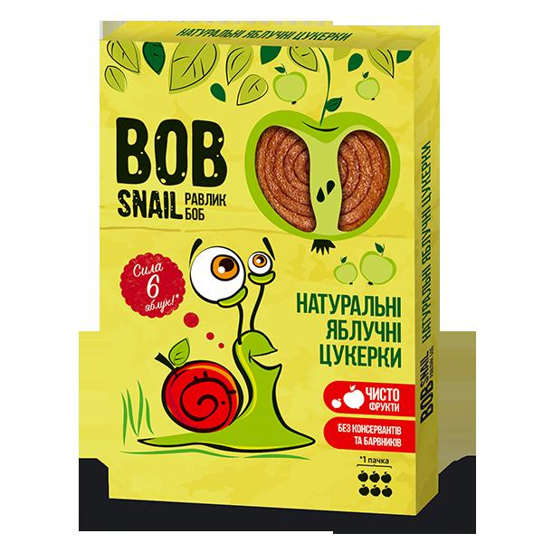 Конфеты натуральные яблочные Bob Snail фото