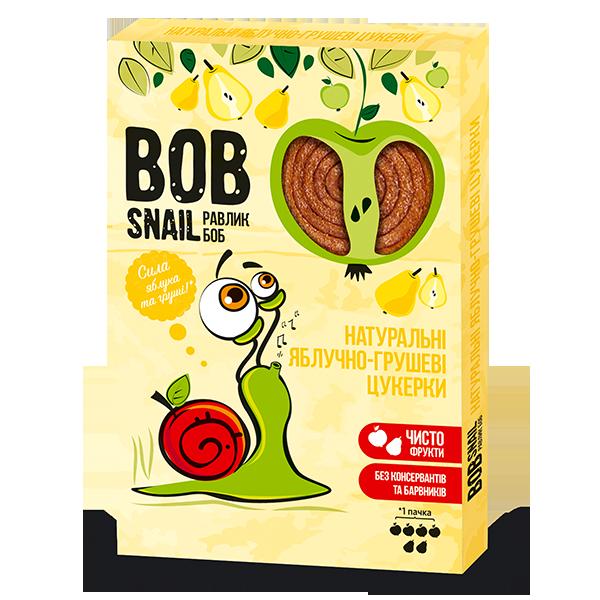 Конфеты натуральные Яблочно-Грушевые Bob Snail фото