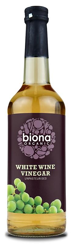 Оцет винний білий органік Biona Organic фото