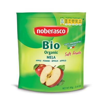 Яблоки сушеные, кусочками Bio Noberasco фото