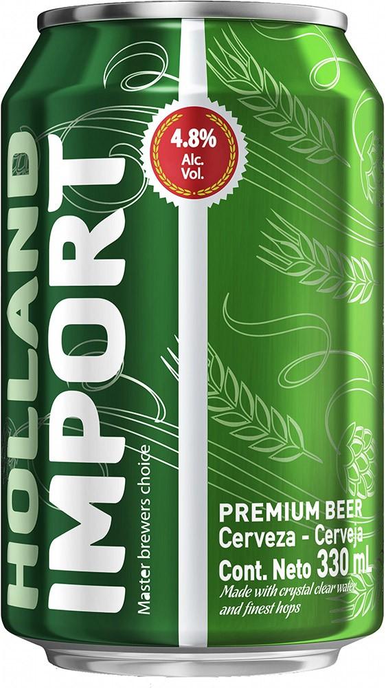 Пиво Holland Import Lager світле ж/б фото