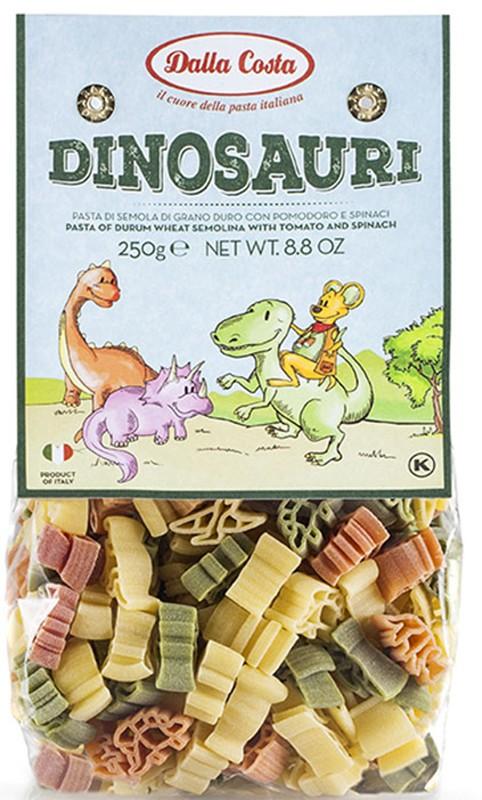 Паста Динозавры с томатом и шпинатом Dalla Costa фото