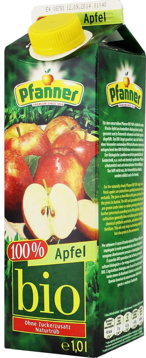 органический яблочный Pfanner Bio фото