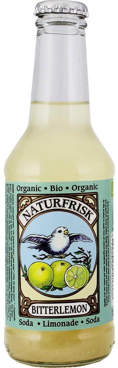 Лимонад органический Bitterlemon NaturFrisk фото