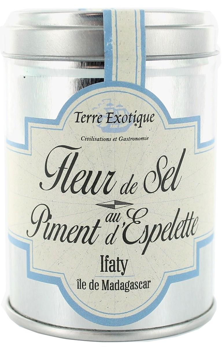 Соль с перцем Fleur de Sel Piment d'Espelette Terre Exotique фото