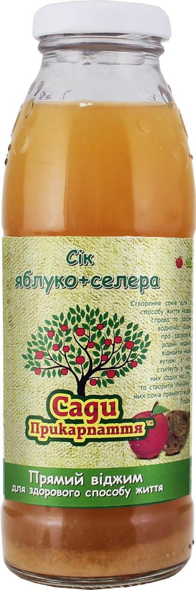 яблочно сельдереевый натуральный Сады Прикарпатья фото