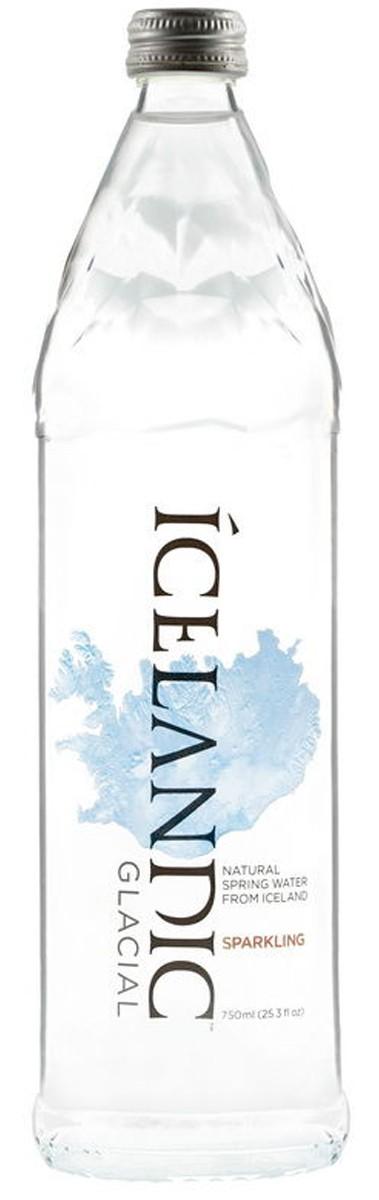 Вода питьевая родниковая газированная Icelandic Glacial фото
