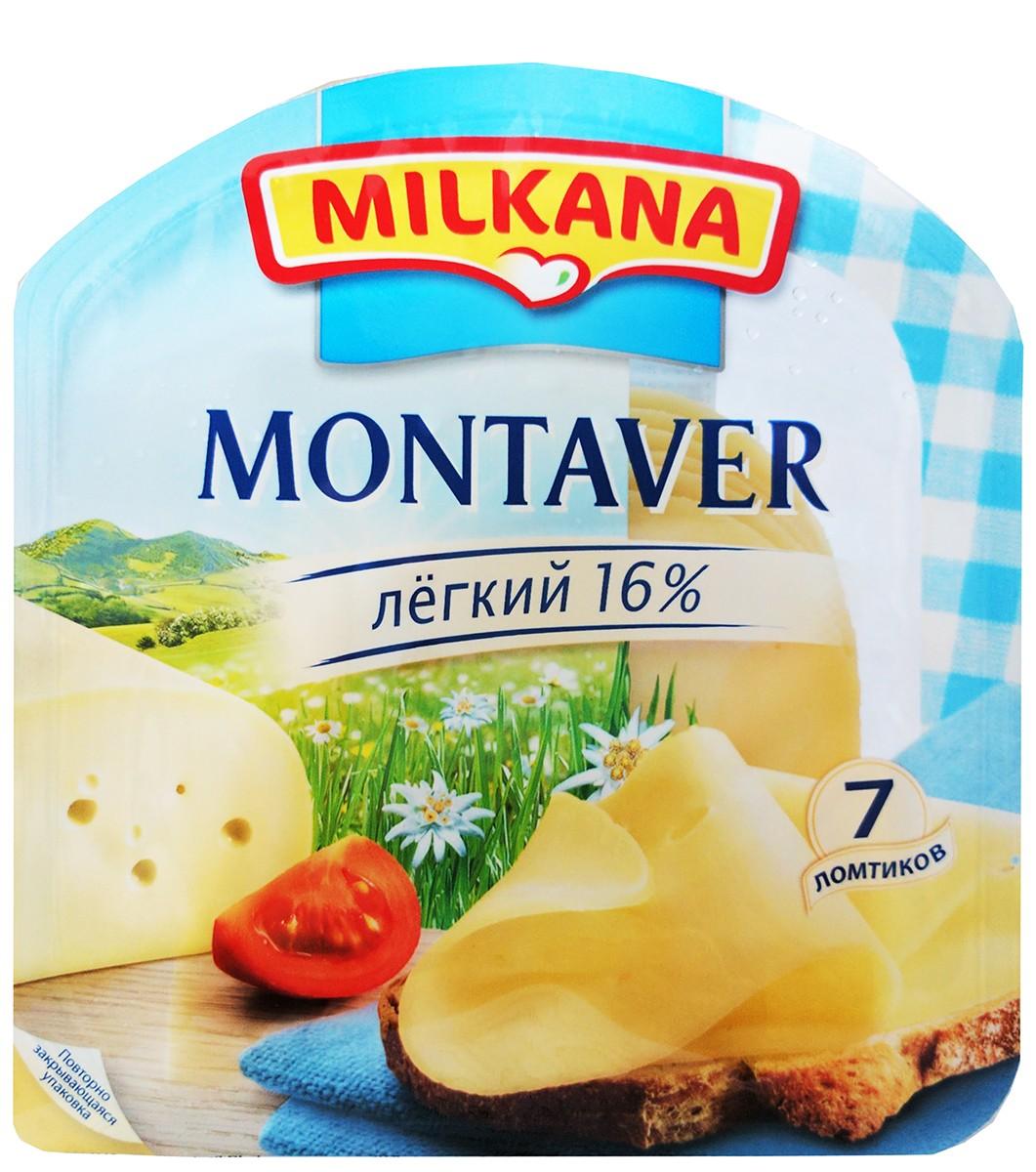 Сир Montaver Light Milkana фото