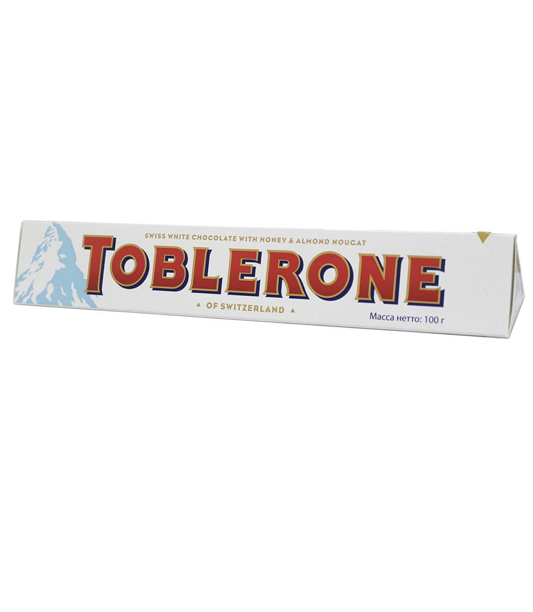 Шоколад белый Toblerone фото