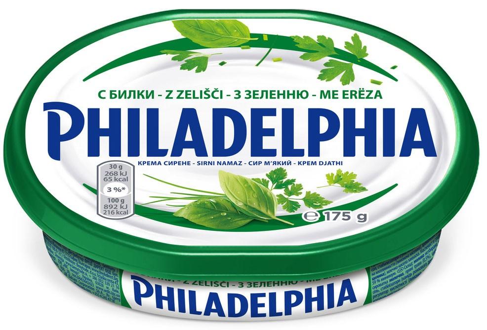 Крем-сыр Philadelphia с зеленью Kraft фото