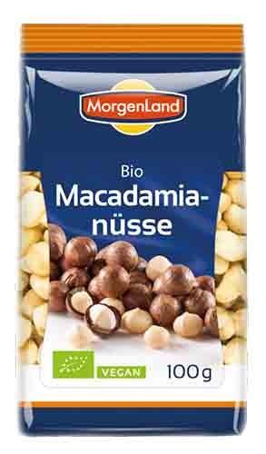 Орехи макадамии органик Morgenland фото