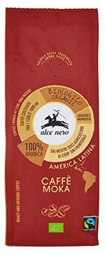 Кофе молотый Moka Fairtrade America Latina Alce Nero фото