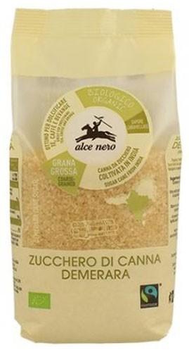 Сахар тростниковый Демерара кристаллический India Fairtrade Alce Nero фото