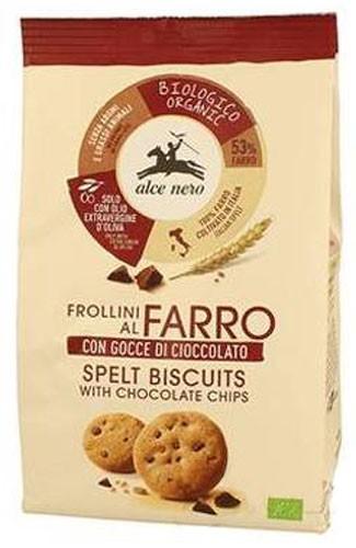 Печиво зі шматочками шоколаду Alce Nero фото