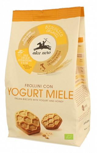 Печиво йогурт та мед Alce Nero фото