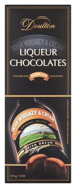 Цукерки шоколадні Doulton з крем-лікером Ірландський віскі фото