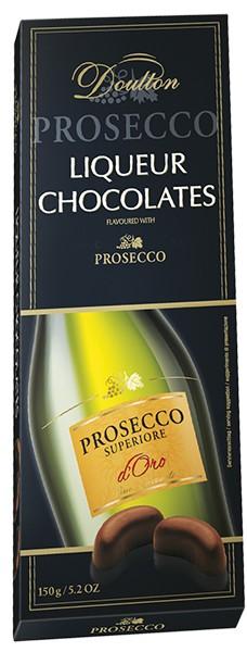 Конфеты шоколадные Doulton с игристым вином Prosecco фото