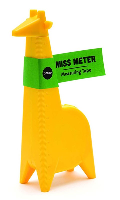 Мерная лента Miss Meter Yellow фото